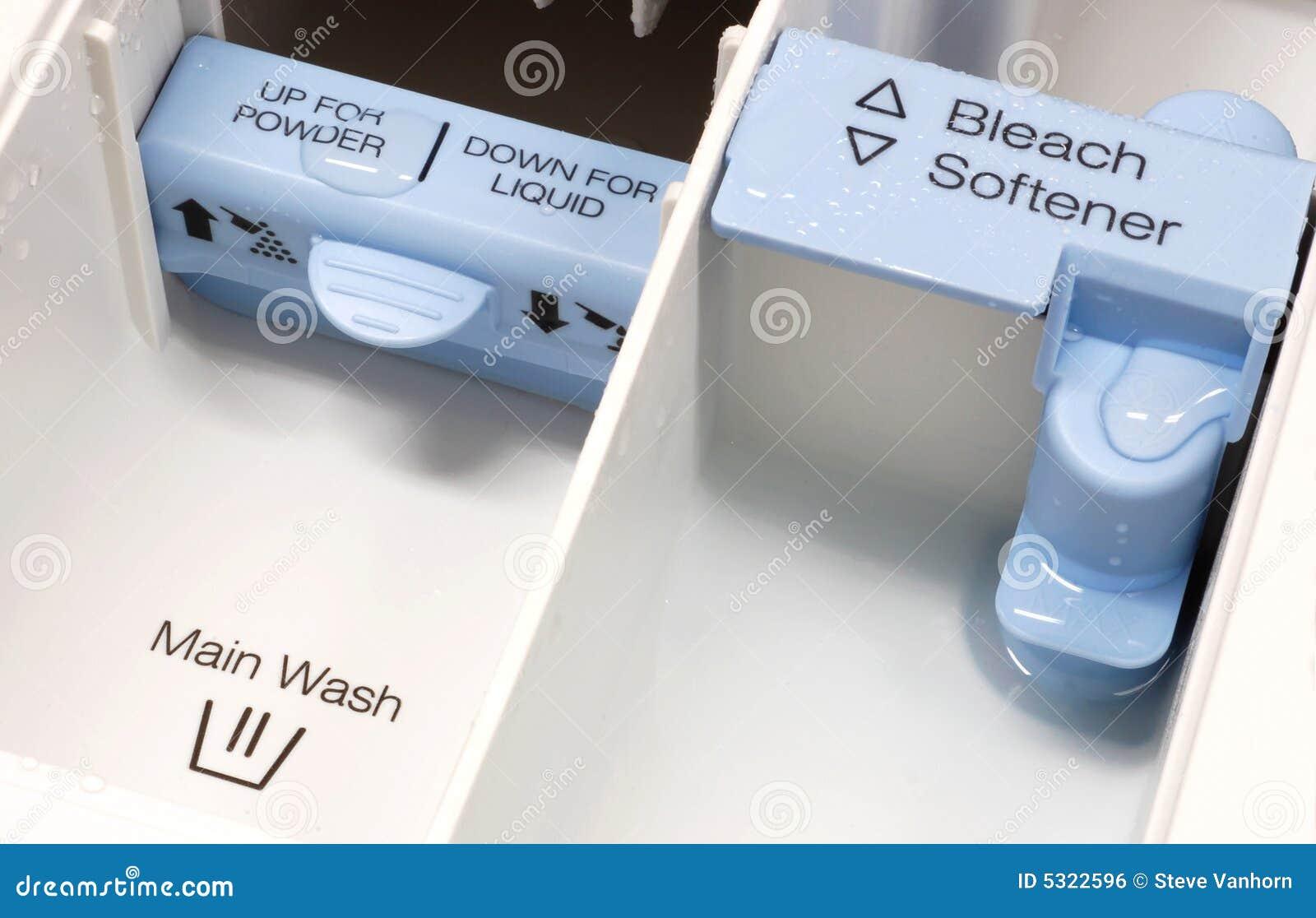 Washer Detergent Dispenser Royalty Free Stock Image