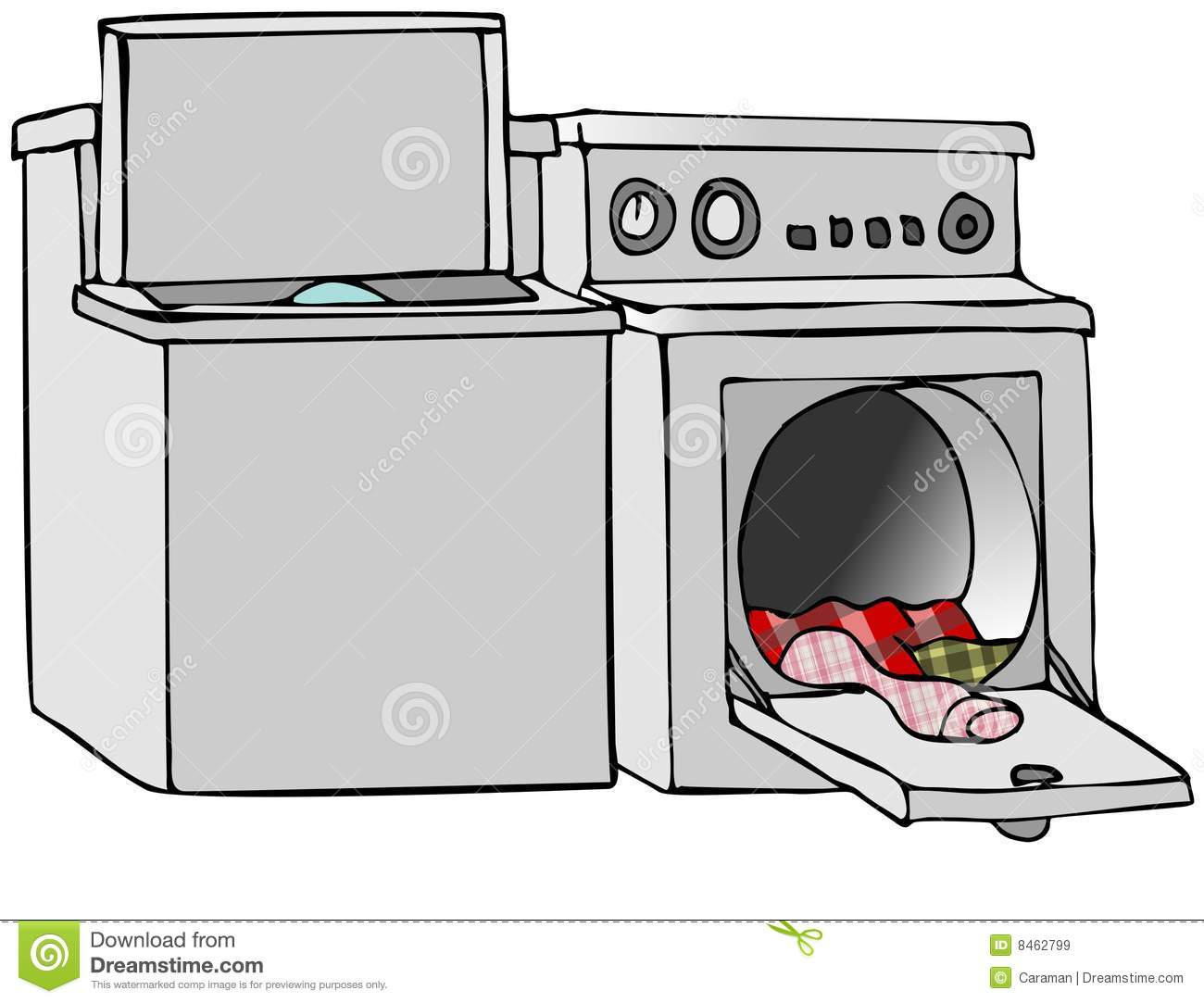 Washing Machine And Dryer Clip Art Washer and dryer