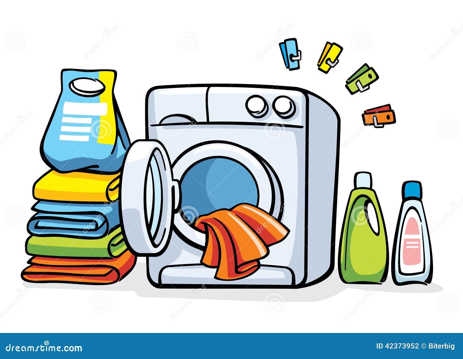 wash clothes machine
