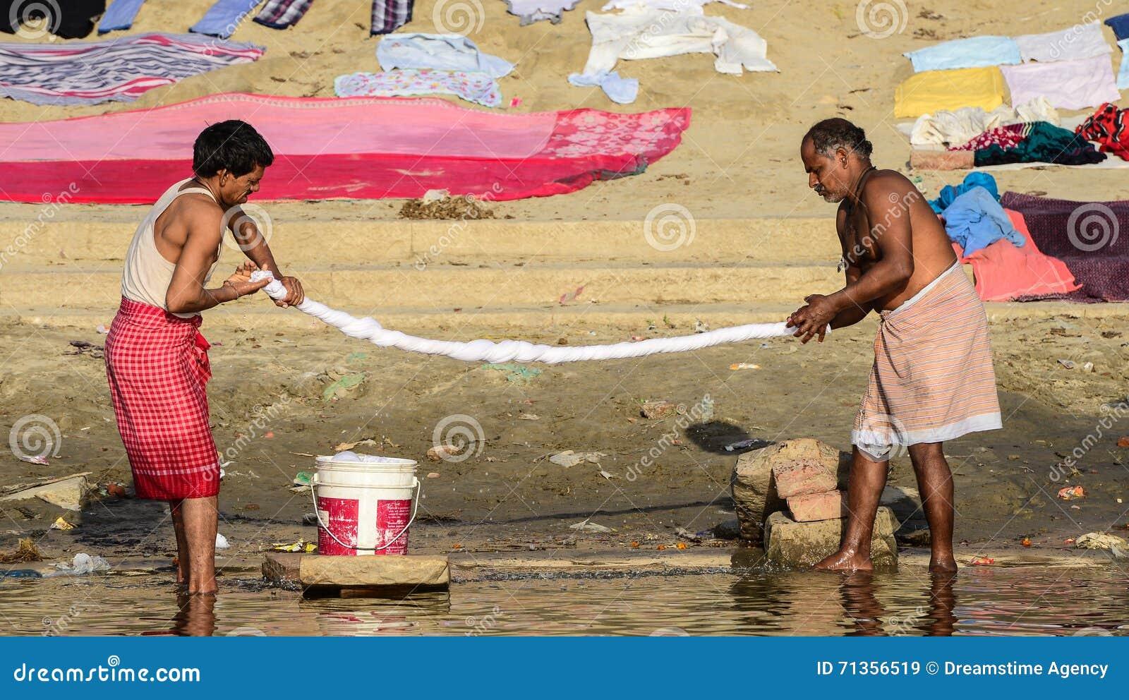 Washerman в Индии