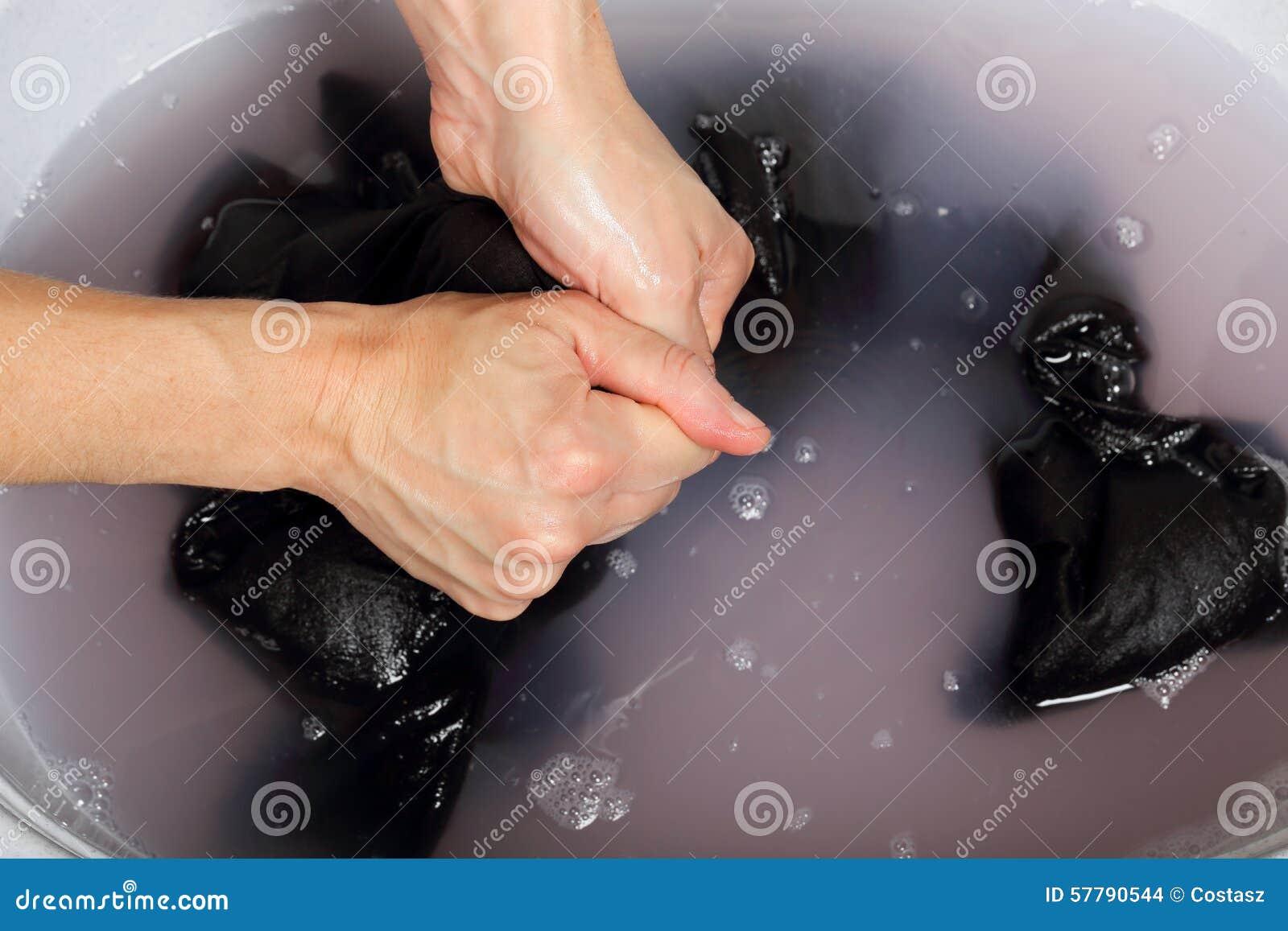 Washing Clothes Stock Photo - Image: 57790544