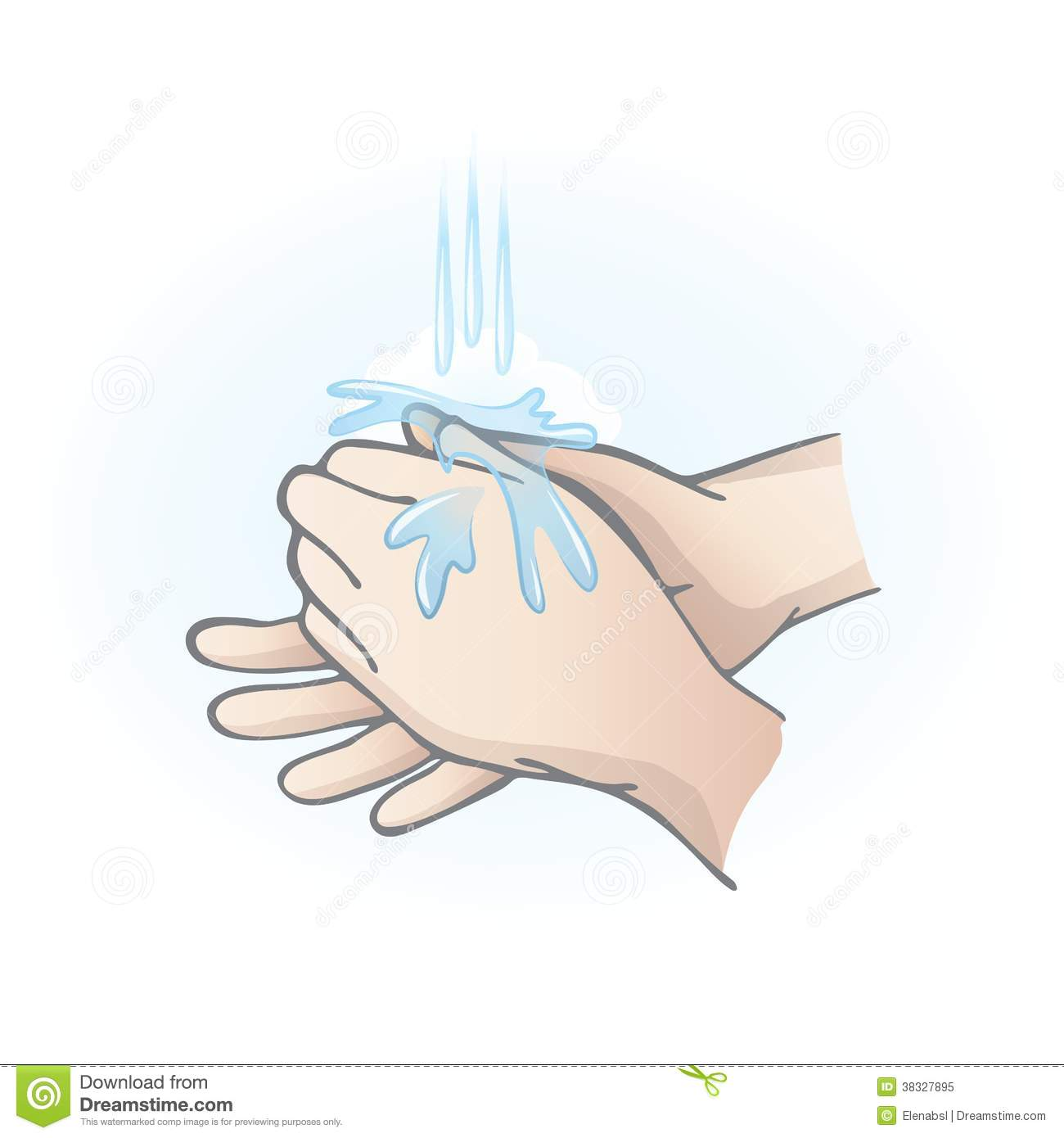 washing hands stock illustration illustration of personal Hand Washing Signs Hand Sanitizer Clip Art