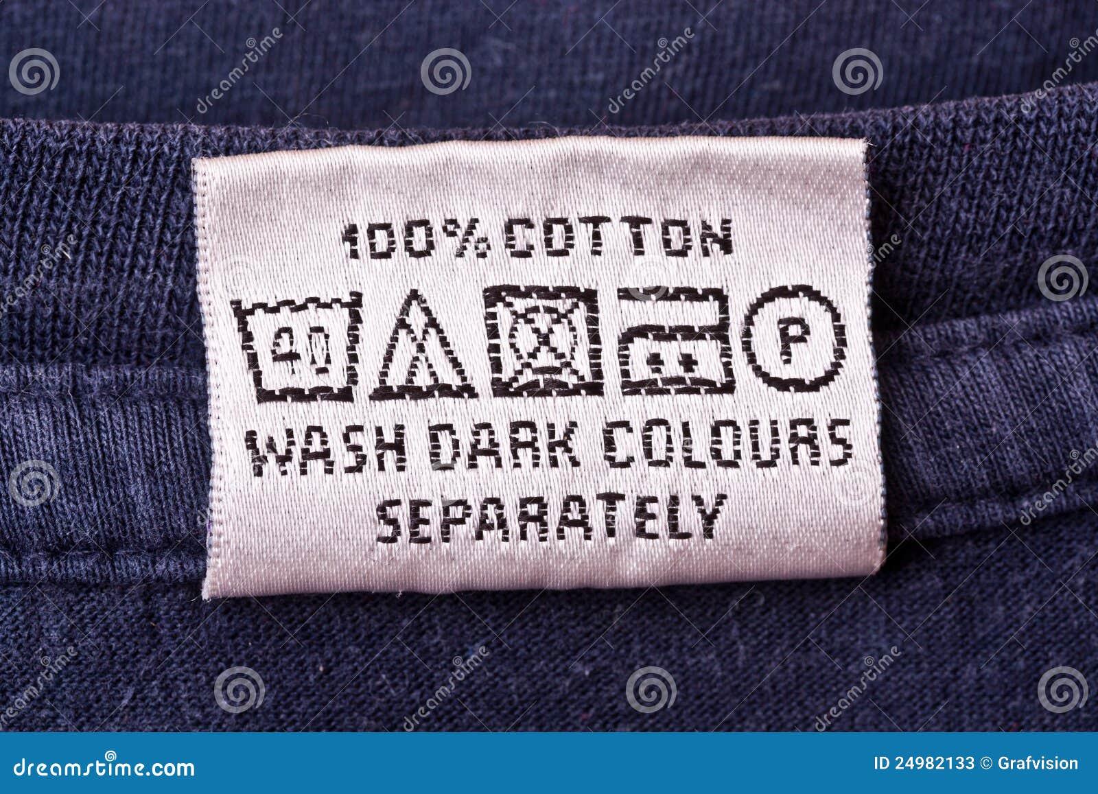 washing instruction symbols p