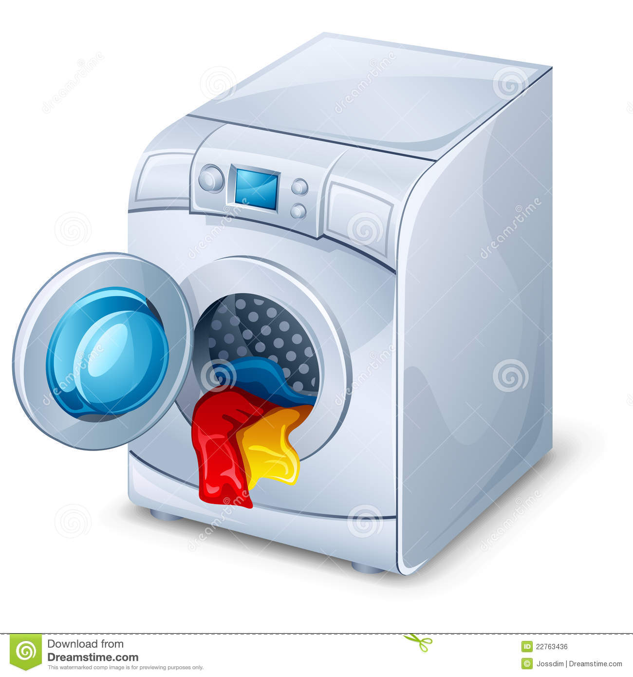 Washing       Machine    Royalty Free Stock Image  Image  22763436