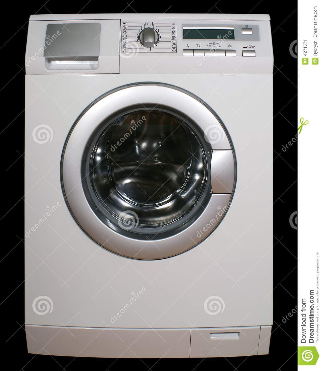 Washing Machine Stock Image Image 4271571