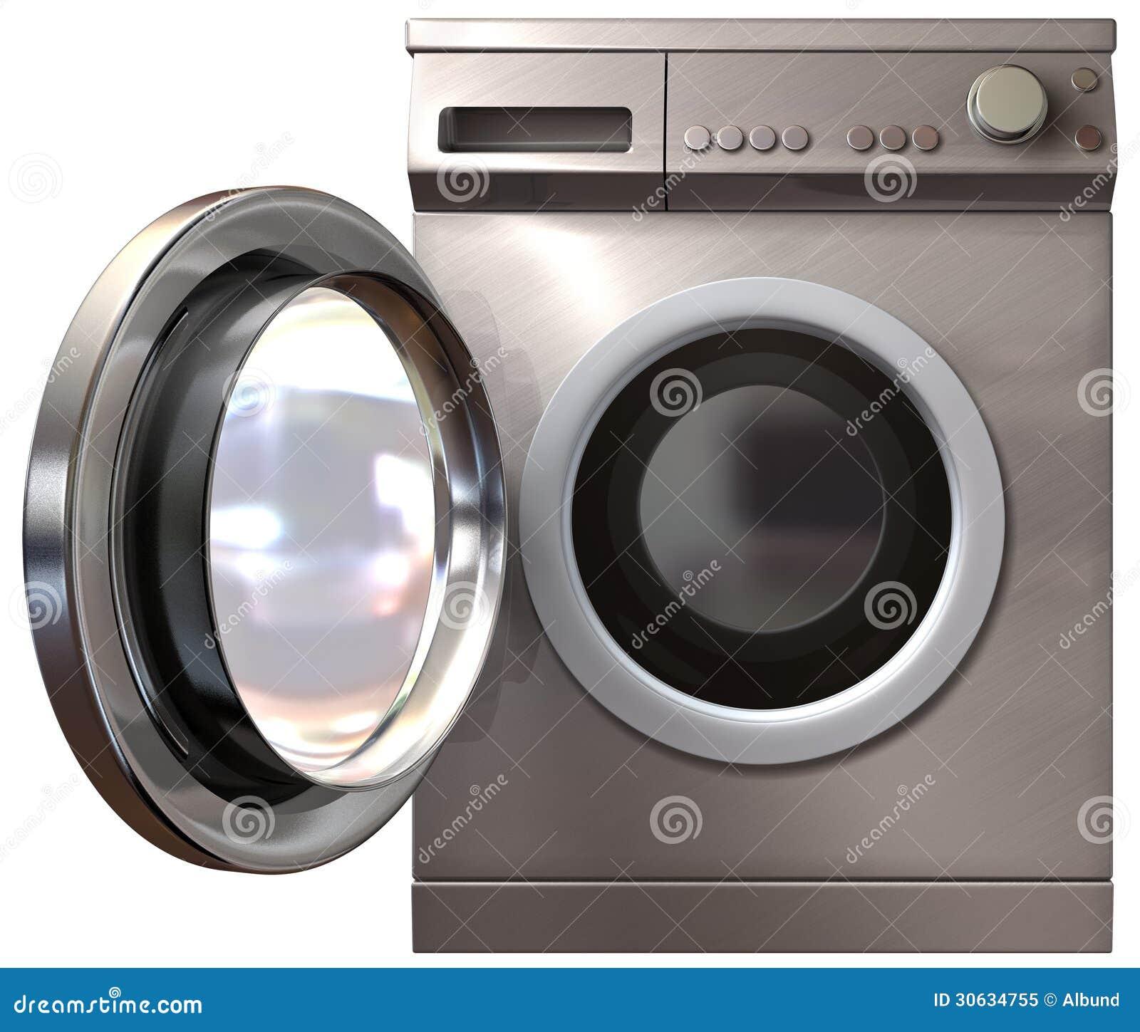 front door washing machine
