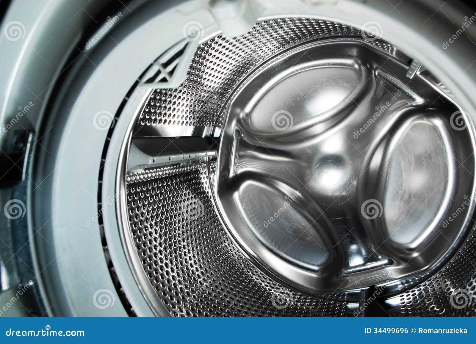 inside a washing machine