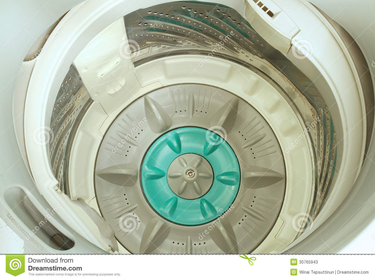 Washing Machine Inside ~ Washing machine stock photos image