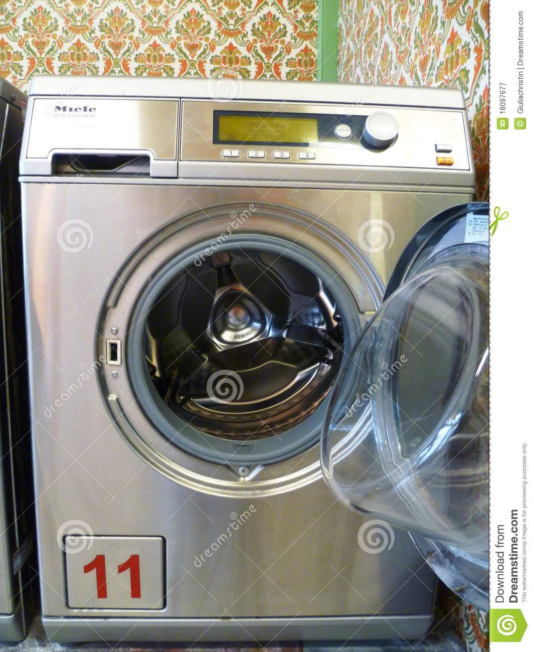 laundromat washing machine settings