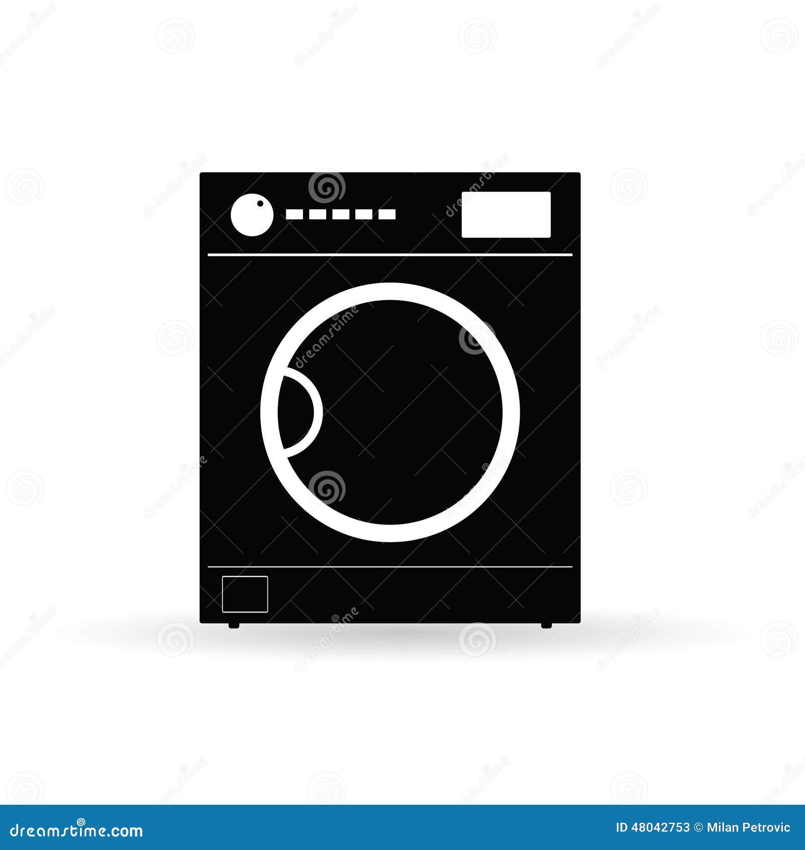 Washing Machine Vector Stock Vector
