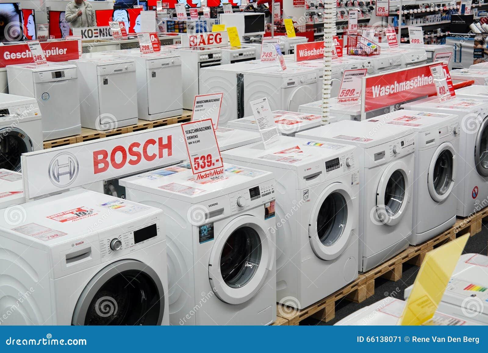 Miele Washing Machine >> Washing Machines store editorial photo. Image of household - 66138071