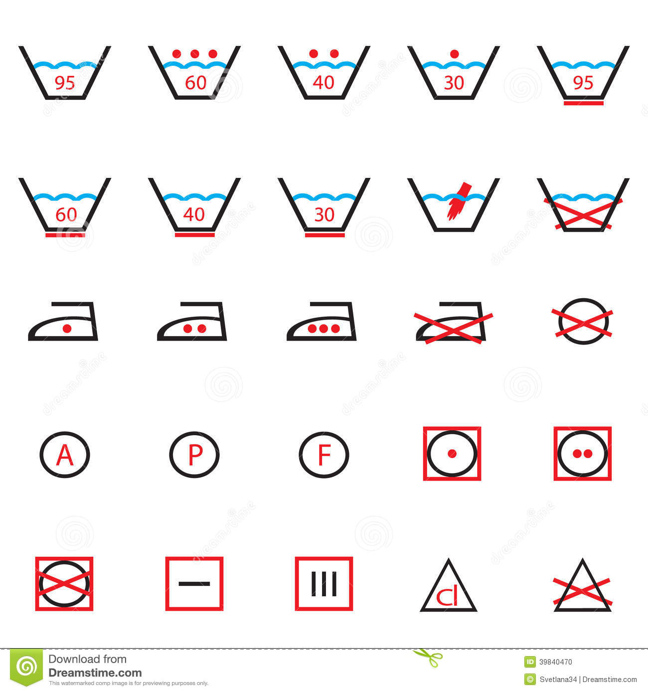 Washing signs stock illustration illustration of symbol 735402 washing signs stock photo biocorpaavc