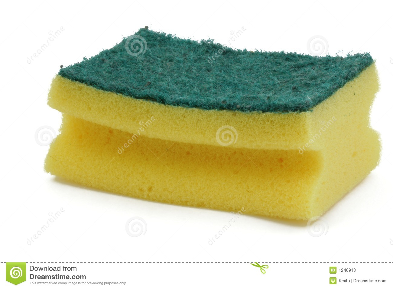 Washing-up Sponge Stock Photos - Image: 1240913