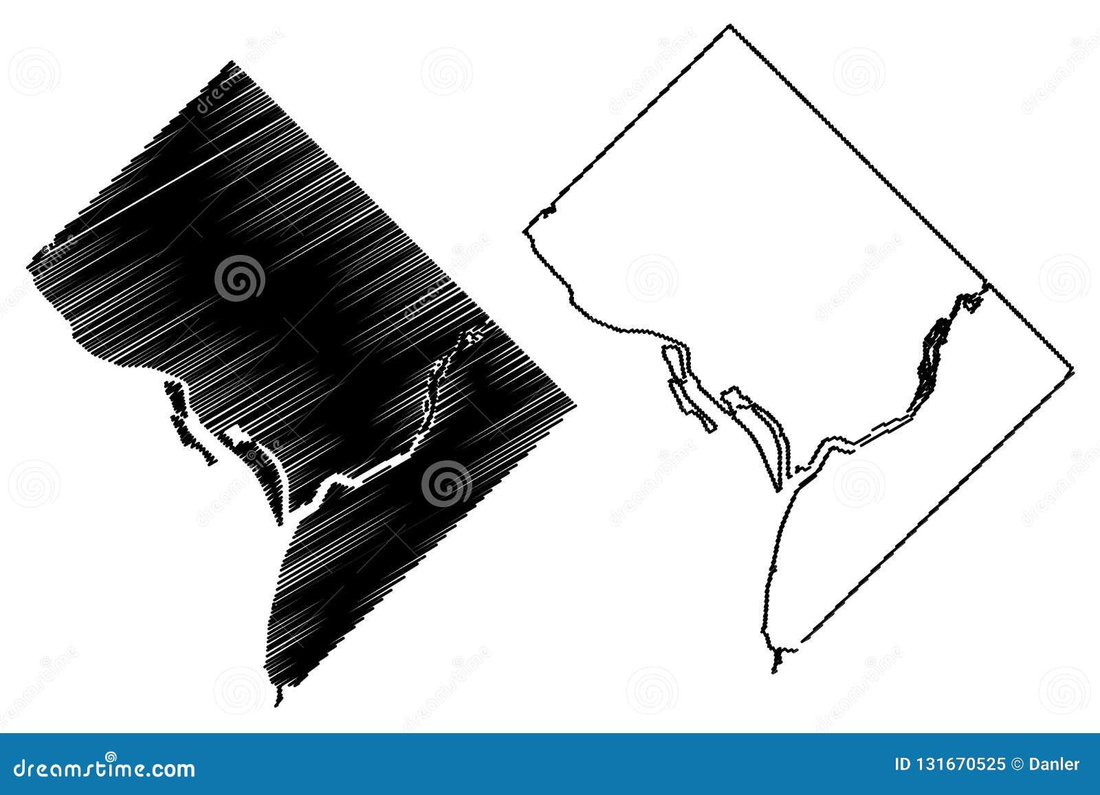 City Map Washington State on