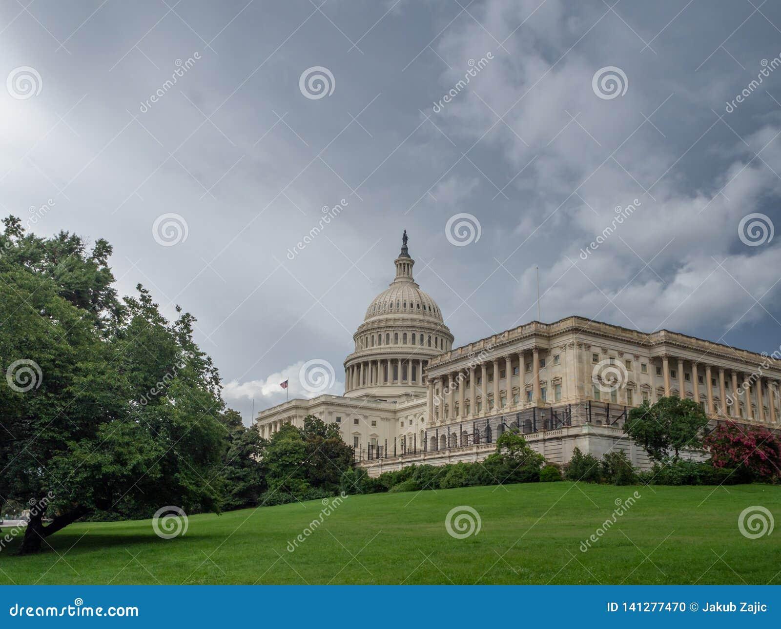 Washington DC, distrito de Columbia [interior do Capitólio do Estados Unidos, distrito federal, centro do visitante do turista, r