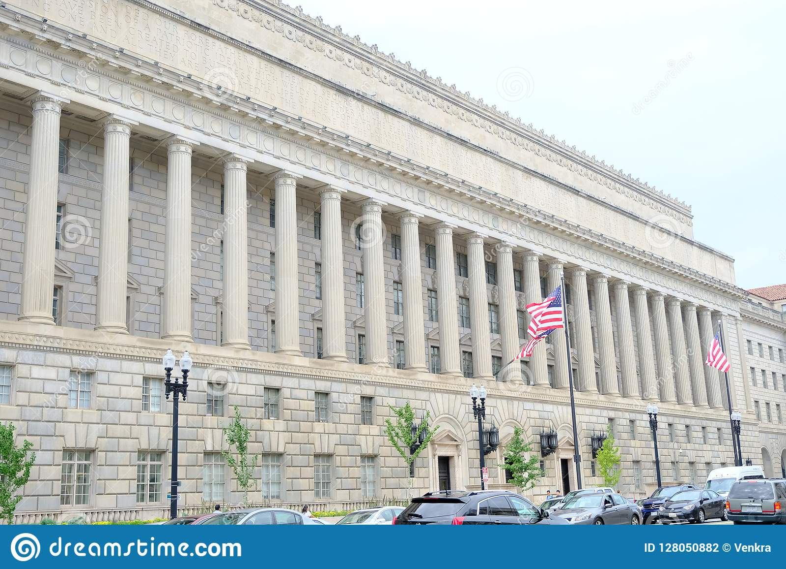 Washington Dc Government Building Editorial Photography