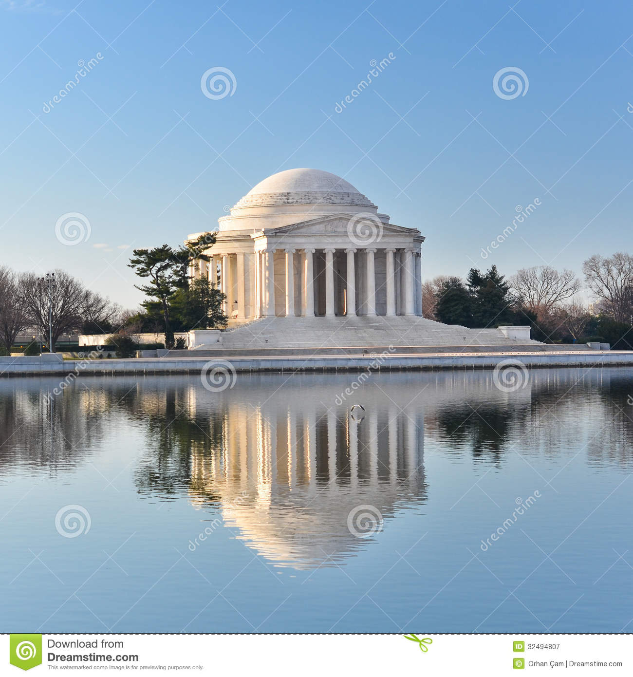 how to get to jefferson memorial