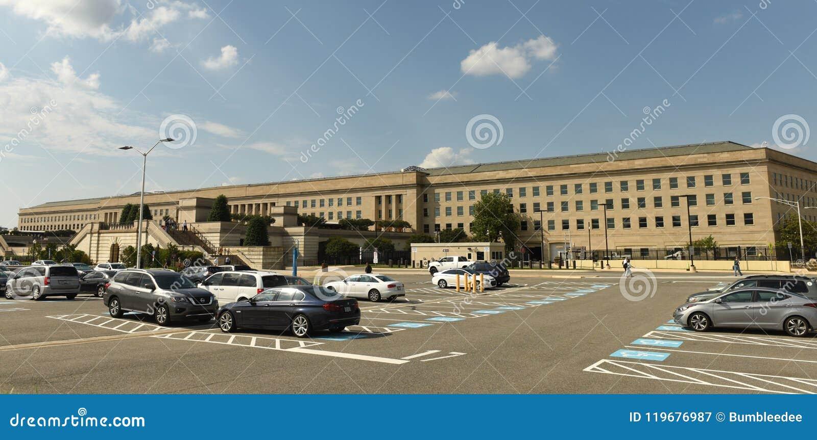 Washington, DC - 1. Juni 2018: Pentagon-Gebäude, Hauptsitze