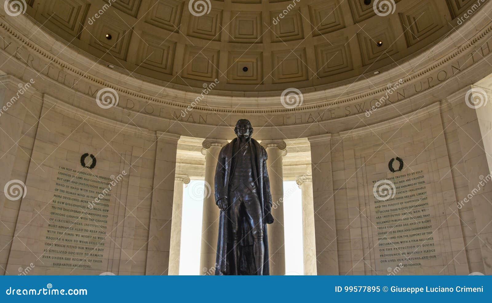 Washington DC, los E Opinión Thomas Jefferson Memorial
