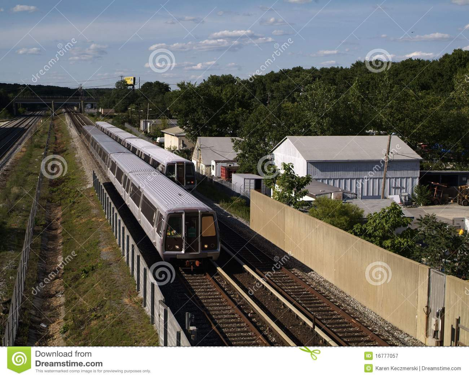 Washington DC Metro Train Editorial Photography - Image ...