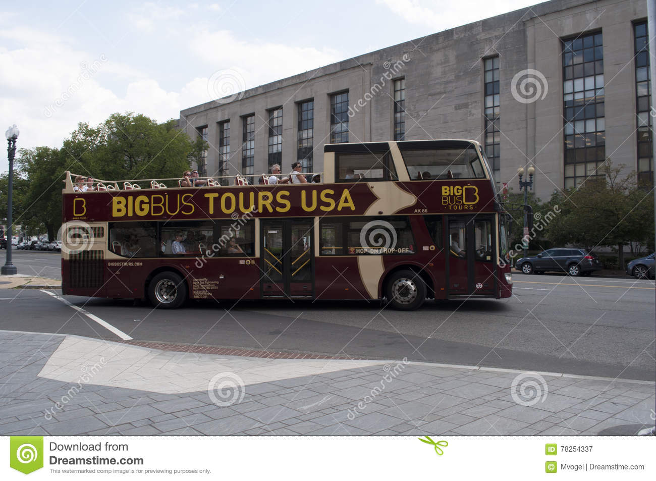 Washington Dc Tour Bus >> Washington Dc Tour Bus Editorial Photography Image Of