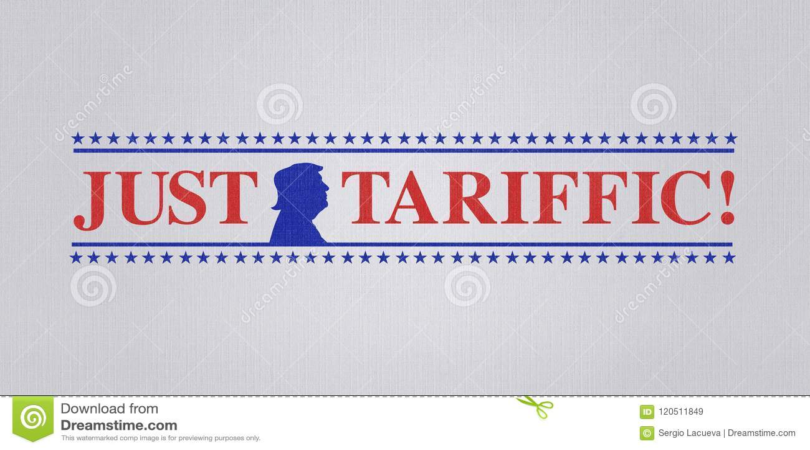 WASHINGTON DC, usa, 4 2018 Lipiec - ilustracja dla USA prezydenta zadawalał z wojnami handlowa i USA dźwiganiem międzynarodowe ta