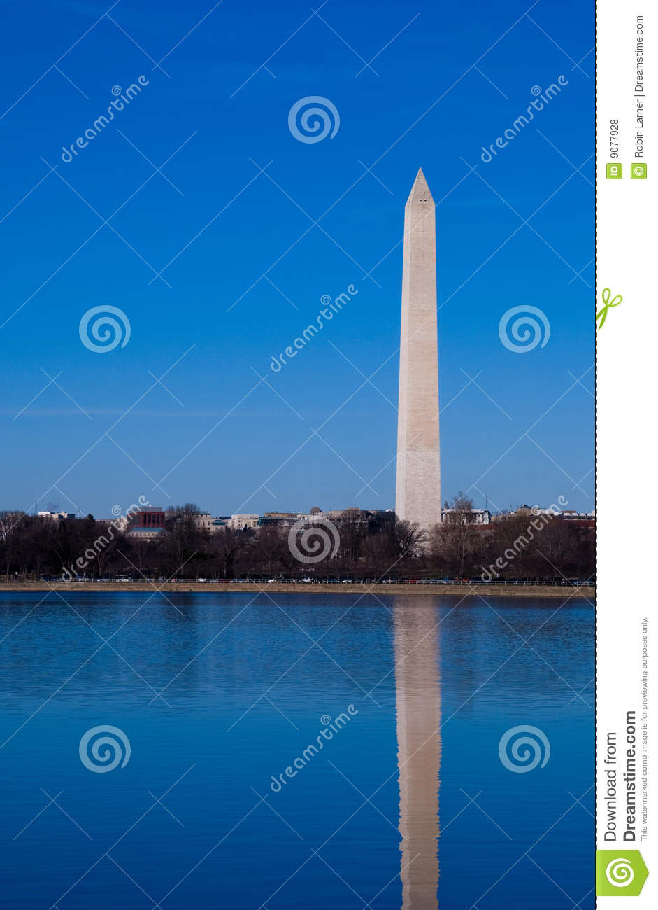 Washington-Denkmal-Reflexion