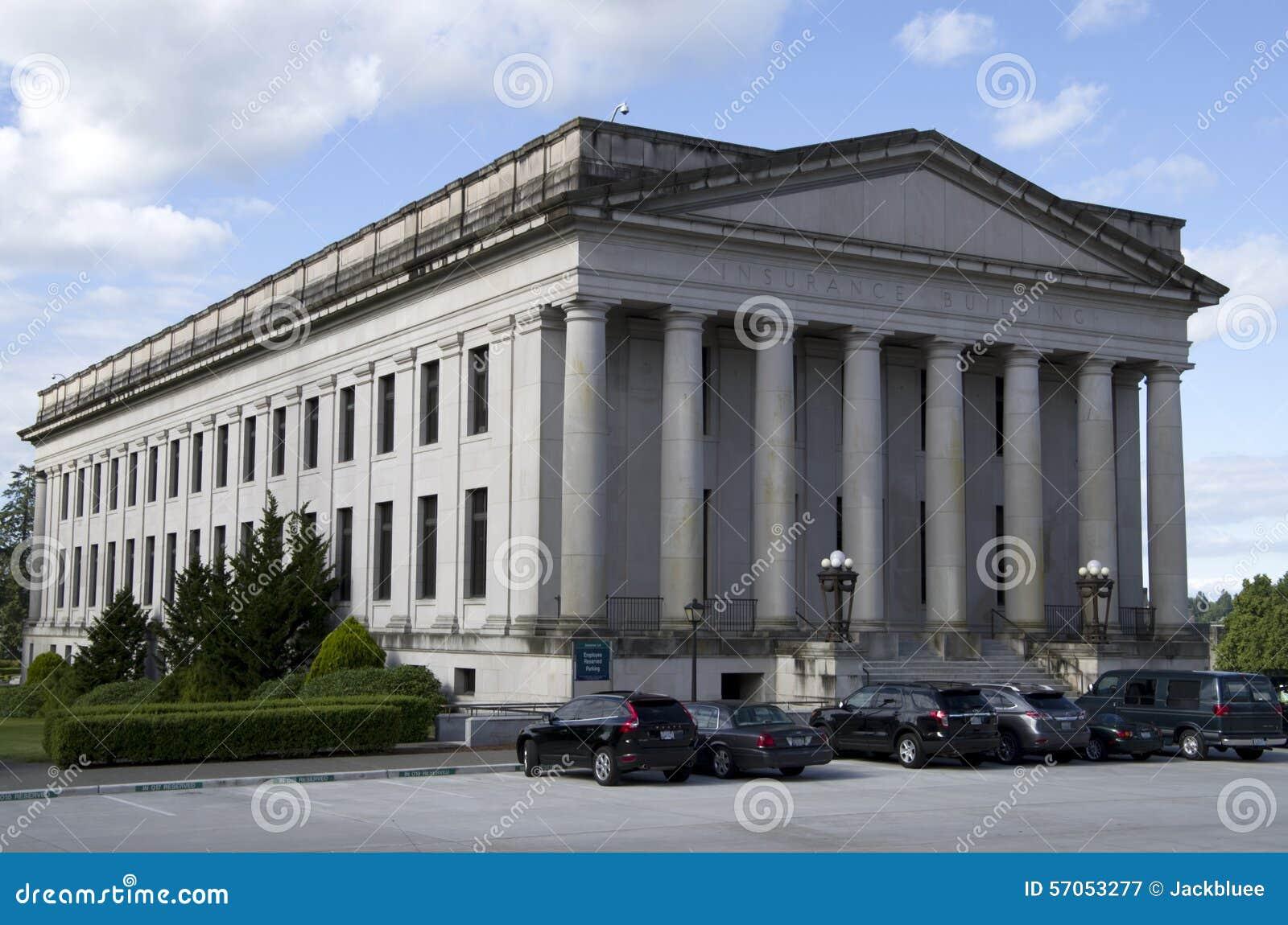 Washington State Capitol-de campusbouw