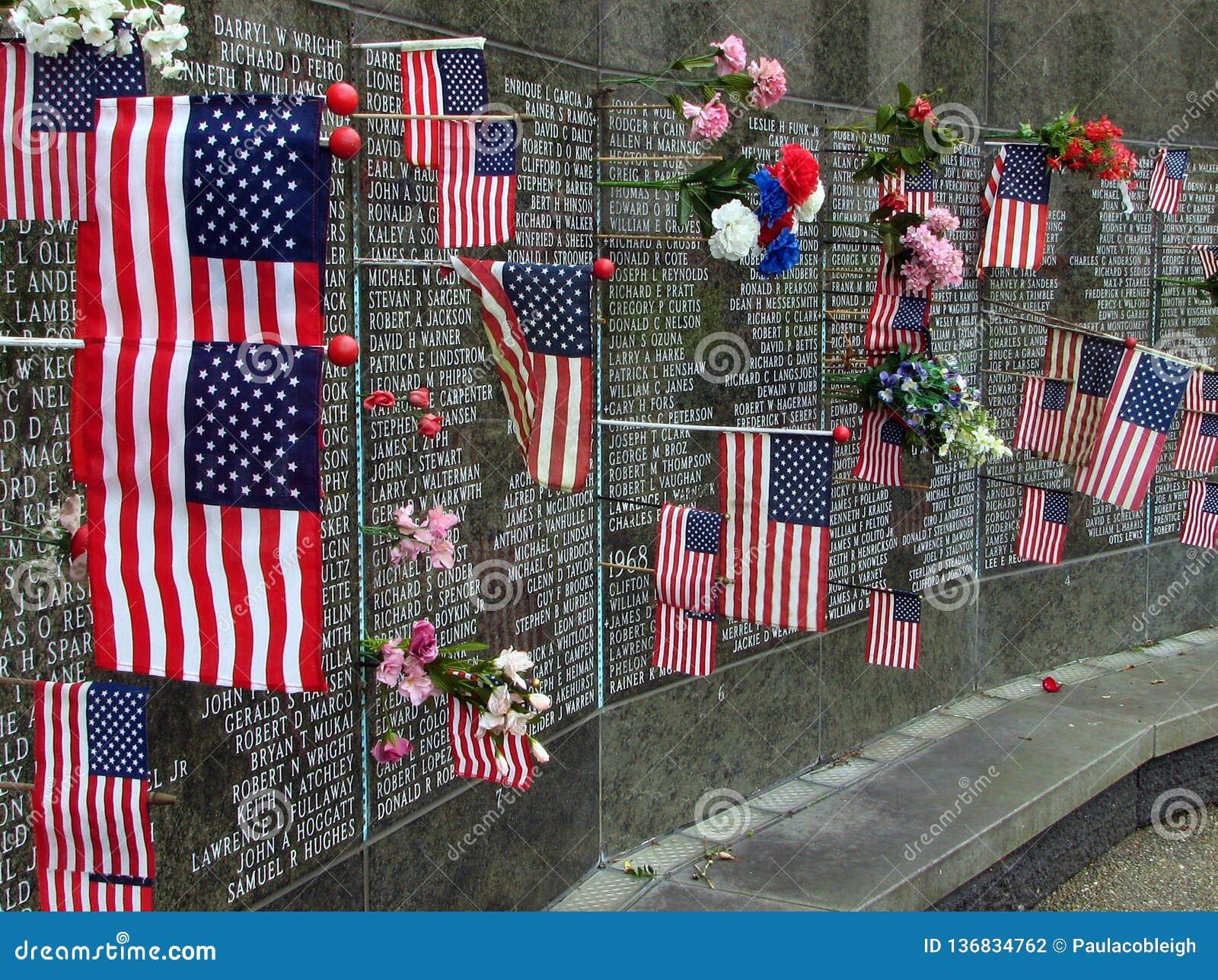 Washington State Vietnam War Memorial at the capitol, Olympia