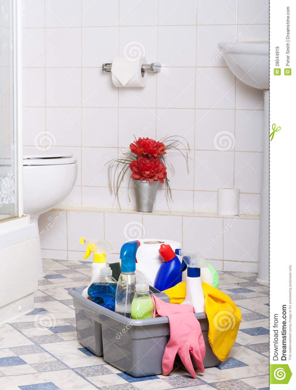 Cleaning Bathroom Clean Kitchen Room Cleaner Wipe Tiles