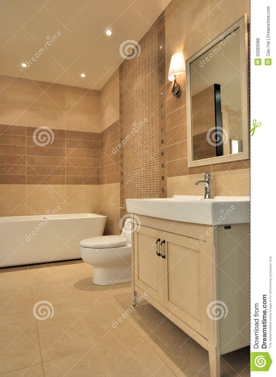 Washroom Interior Stock Photo Image Of Mirror Water