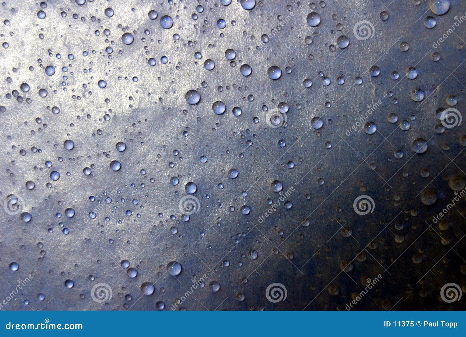 Wasser-Tropfen-Farbtöne