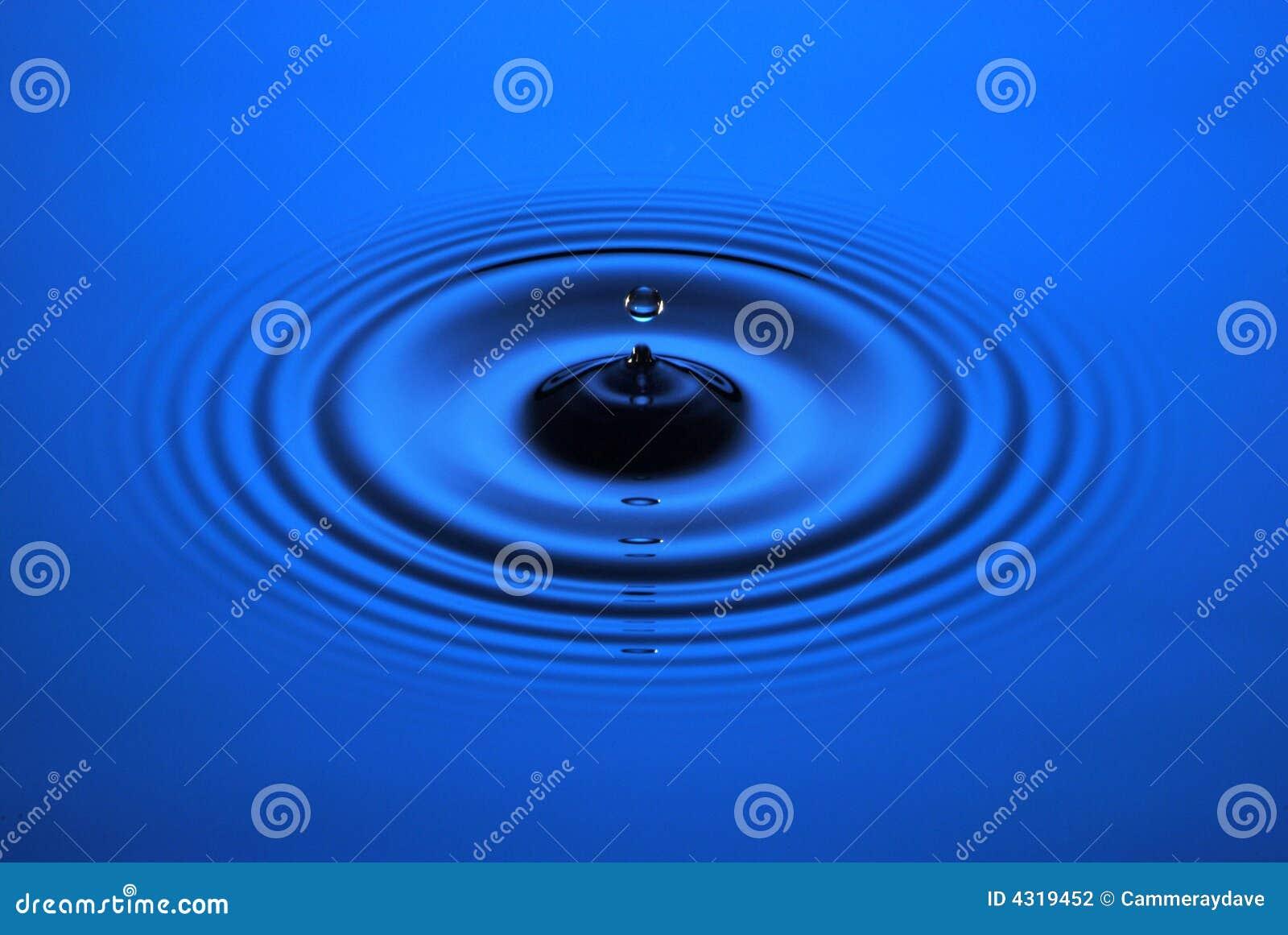 Wasser-Tropfen-Kräuselung