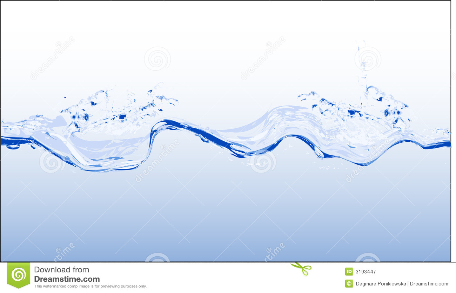 Wasser - Vektor