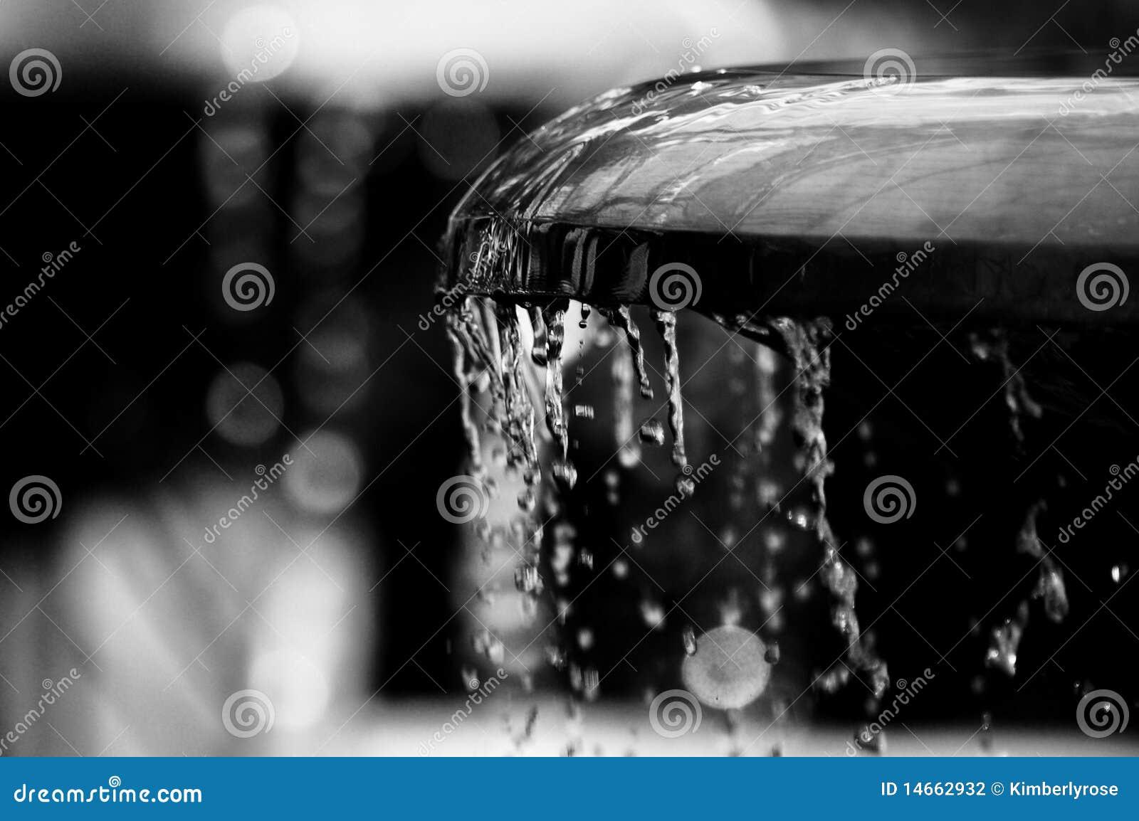 Wasser von einem Brunnen
