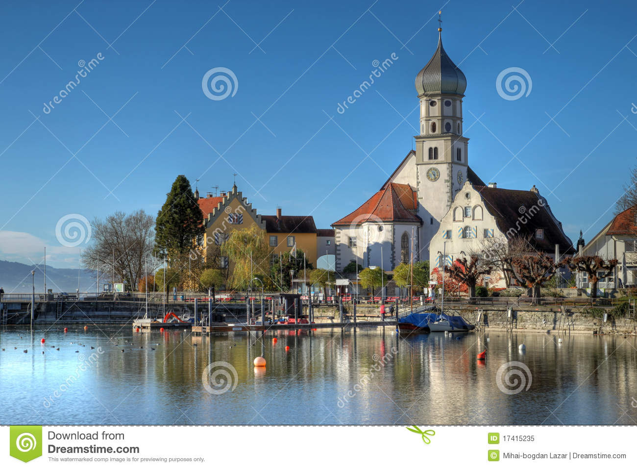 Wasserburg Am Inn Germania wasserburg on bodensee, germany stock image - image of