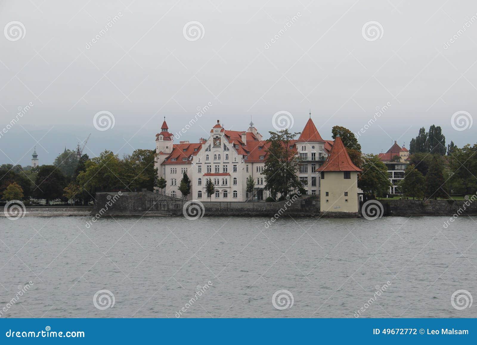 Wasserburg na Jeziornym Bodensee, Niemcy