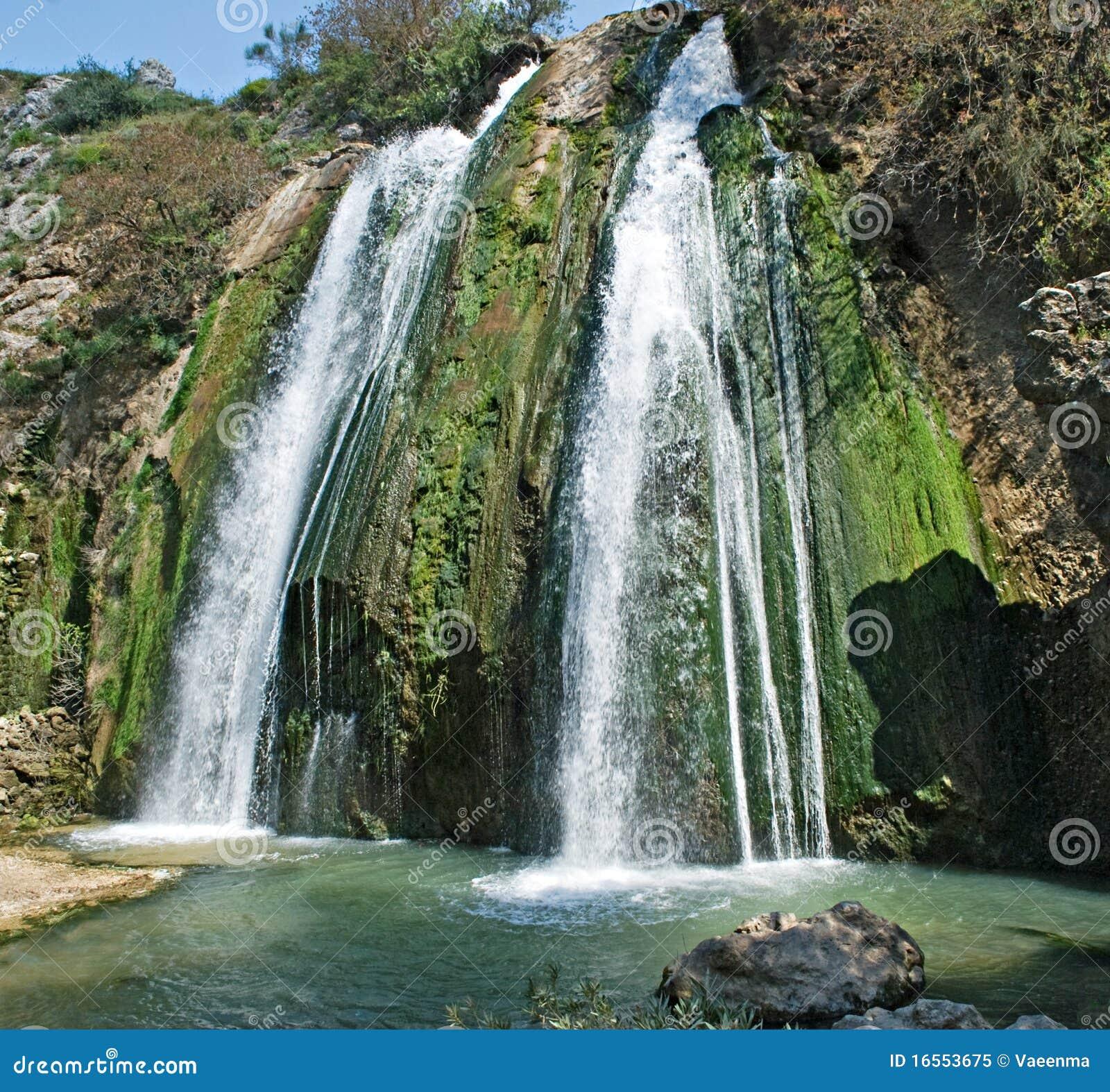 Wasserfall bei Israel