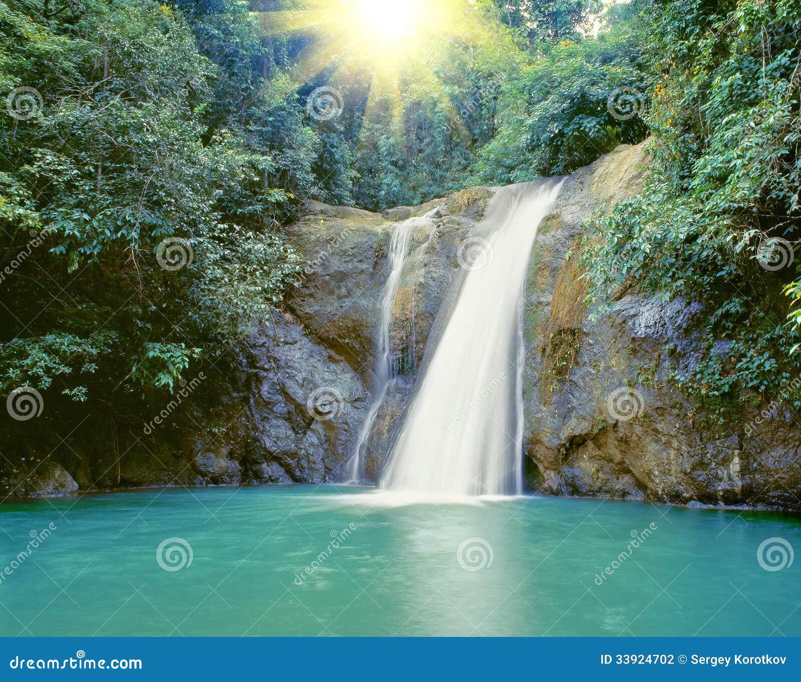 Wasserfall nahe Iligan