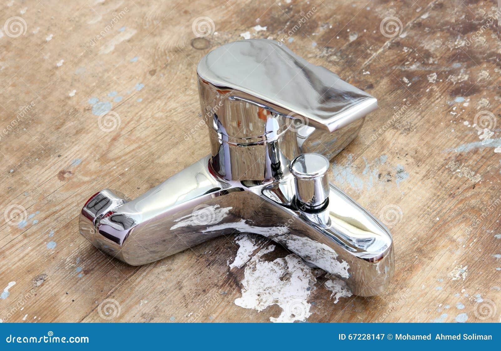 Wassermischer Hahn Hahn Stockbild Bild Von Badezimmer 67228147