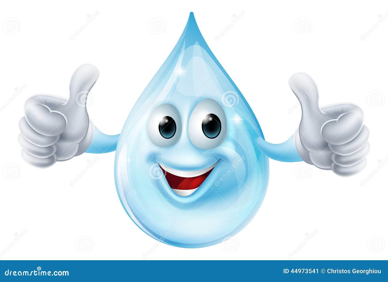 Wassertropfencharakter