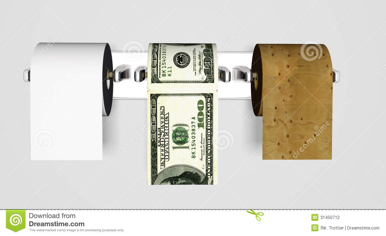 Waste paper money wood stock photography image 31450712 for Waste paper things