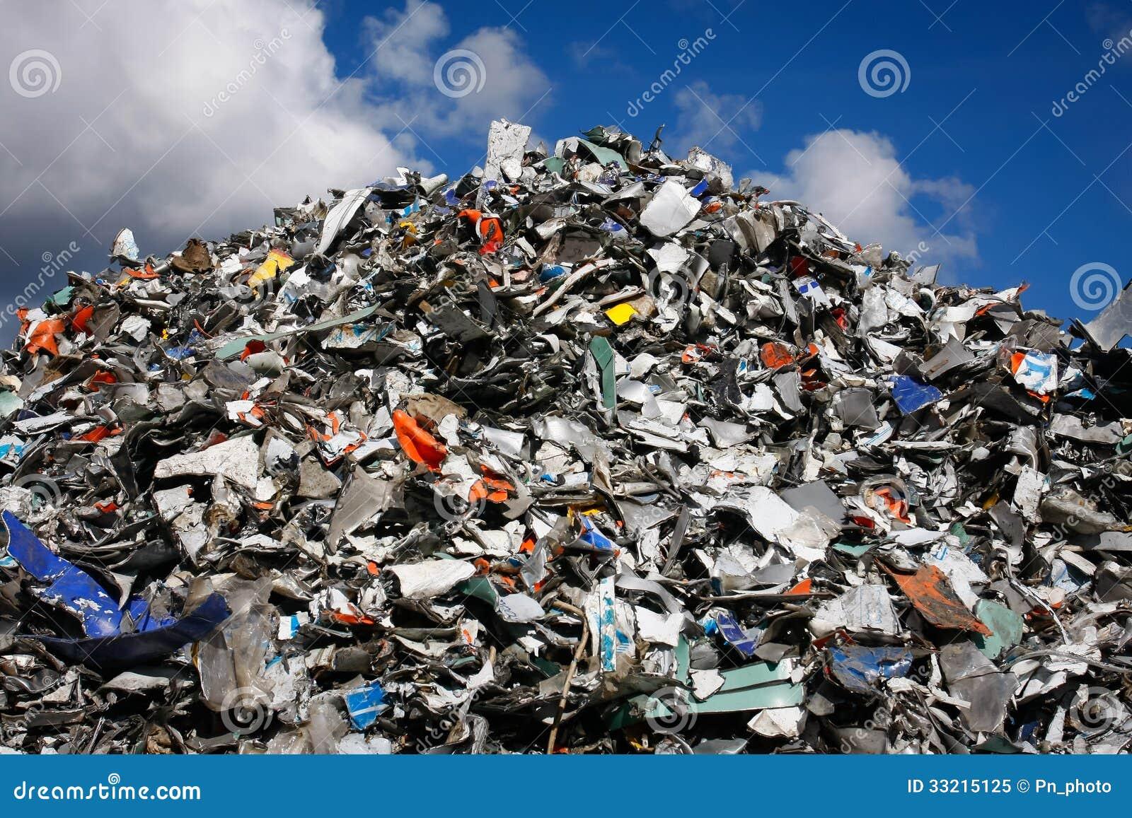 Waste Mountain Stock Image Image Of Garbage Run Supply
