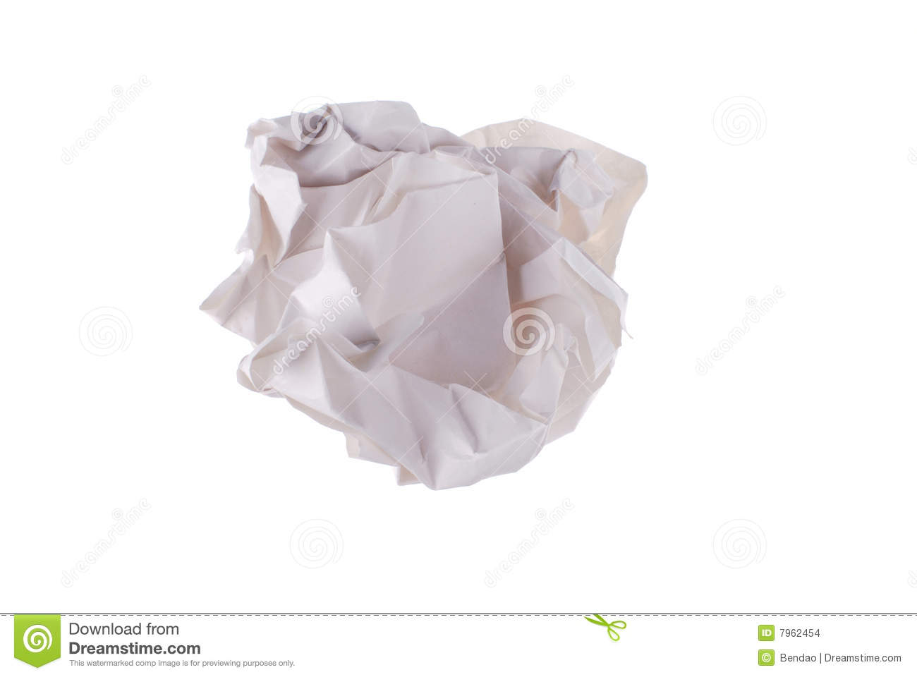 Waste Paper Stock Images - Image: 7962454