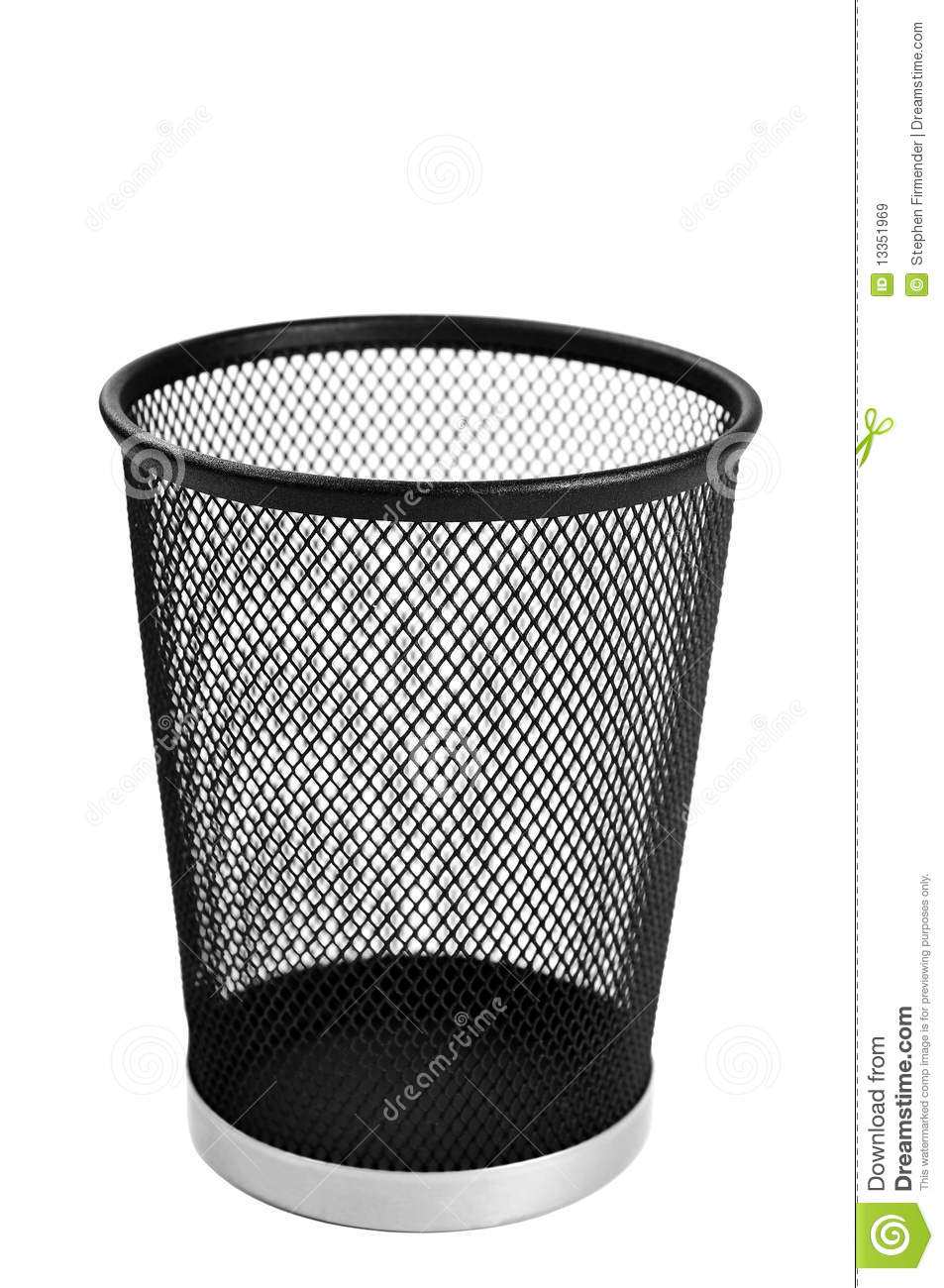 Wastepaper Basket Entrancing Waste Paper Basket Royalty Free Stock Images  Image 13351969 Design Ideas