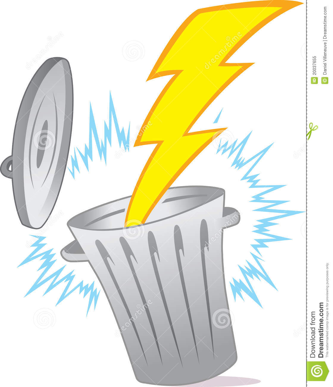 Wasted Energy Stock Vector Illustration Of Energy Waste