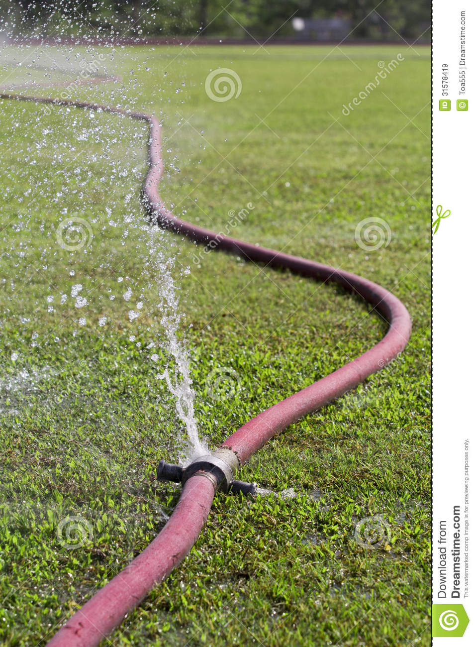 Wasting Water Royalty Free Stock Images - Image: 31578419