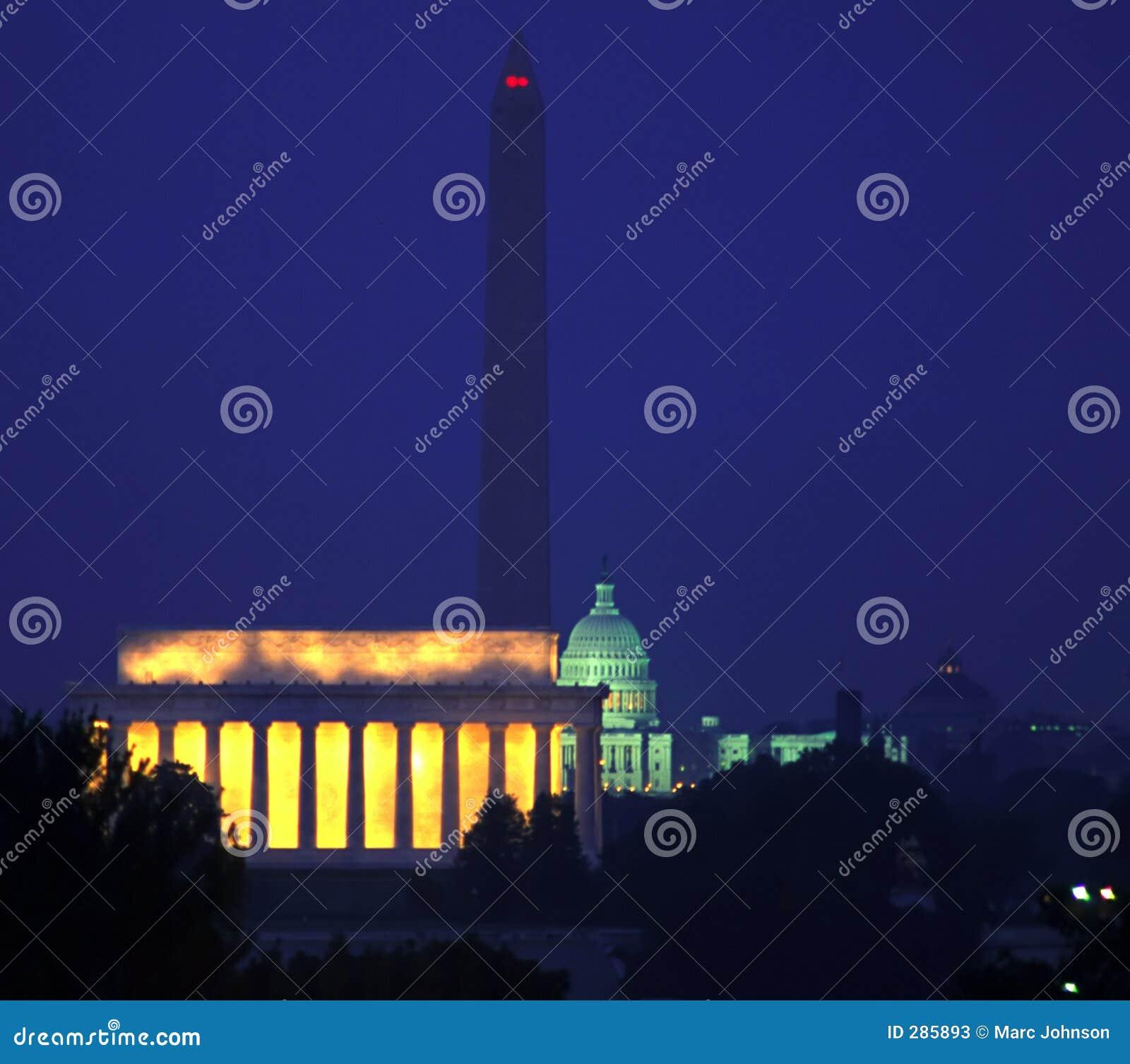 Waszyngton dc noc