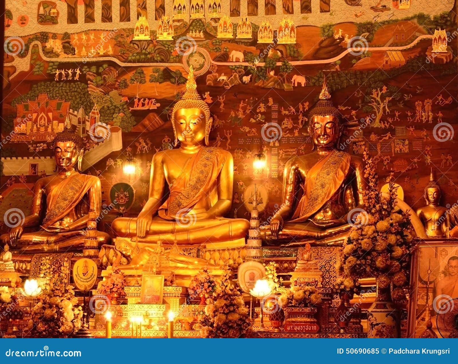 Download Wat, Phananchoeng,阿尤特拉利夫雷斯,泰国 库存图片 - 图片 包括有 蠢材, 宗教: 50690685