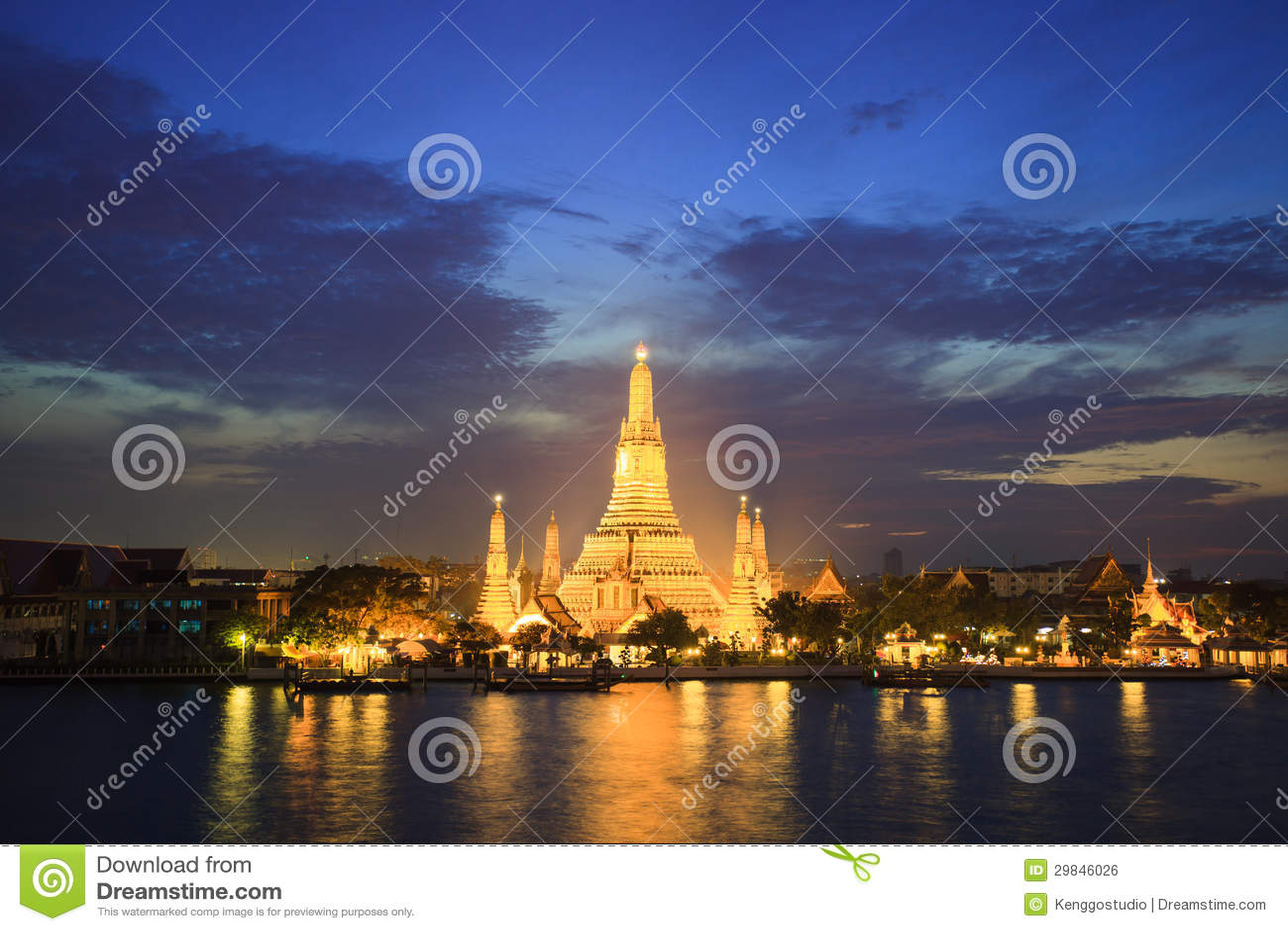 Wat Aroon, Banguecoque, Tailândia